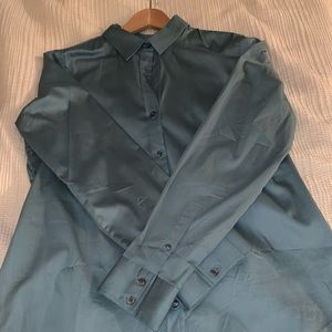 Brand New Banana Republic button up in Sea green